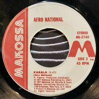"afrobeat soul highlife 7"" AFRO NATIONAL Kabala Maria ♫ Mp3 Makossa Funk Soukous"