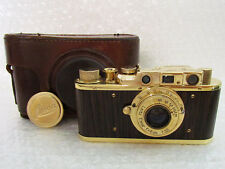 Leica-II(D) Luftwaffe WWII Vintage Russian RF Film 35mm Gold Photo Camera EXC