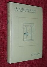 The Isles and Shrines of Greece S J BURROWS 1899 1st Edition Travel Exploration