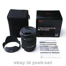 SIGMA lens 17-50mm F2.8 EX DC HSM for Pentax APS-C only 928629