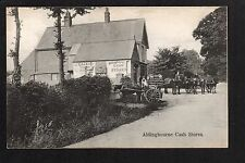 Aldingbourne Cash Stores - printed postcard