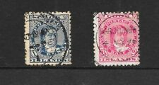 COOK ISLANDS 1893 1d 2½d USED CAT £25