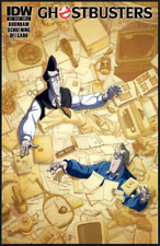 GHOSTBUSTERS ONGOING #6 IDW  (2011) COVER A 1ST PRINT