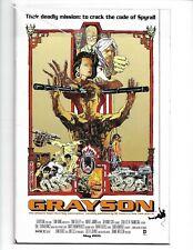 GRAYSON #8 ENTER THE DRAGON MOVIE POSTER VARIANT NM 2015 DC COMICS (v21)(v18)