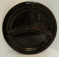 Bauer California Pottery Grill Plate Brown