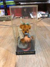 World of Miniature Bears Beverly #716 Sherri Dodson Halloween Le 1000  COA New