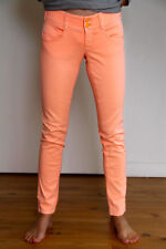 jeans pitillo chinos rosa MET EN jeans único T 28 38 fr i 42 NUEVA SIN ETIQUETA