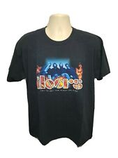 Vtg 2006 The Doors Try to Set the Night on Fire Adult Large Black Tshirt