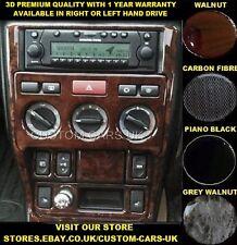 LAND ROVER FREELANDER 1  1997-2003 L314 Dash Kit - Walnut - Carbon - Piano Black
