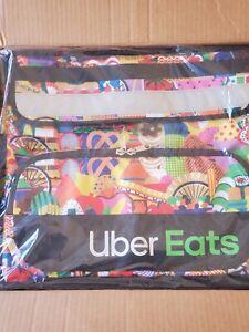 UBER EATS LIMITED EDITION ARTIST Melanie Insulated Bag Postmates Grub Hub