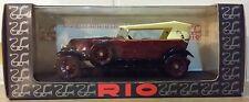 Voiture  Miniature Rio « Renault 40 CV Torpedo 1923 » 1/87 ème Tout Neuf.