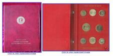 FAO COIN COLLECTION 1968-1970 RED ALBUM 45 Coins