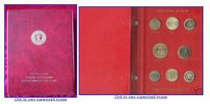 FAO COIN COLLECTION 1968-1970 RED ALBUM 45 Coins