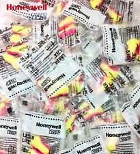 100 SOFT FOAM EAR PLUGS, 50 PAIRS OF HOWARD LEIGHT LASER LITE EARPLUGS 35 dB