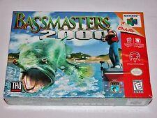 Bassmasters 2000 for Nintendo 64 N64 - BRAND NEW & FACTORY SEALED! Gray Varient?