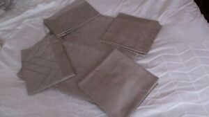 Kelly Hoppen 5 Piece Bed Set Double Size Taupe