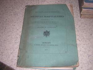 1867.archives hospitalières / Merlet.hospices de Chateaudun