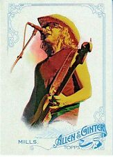 2015 Allen & Ginter's MIKE MILLS REM Rock Star The World's Champions # 37 Nm-Mt
