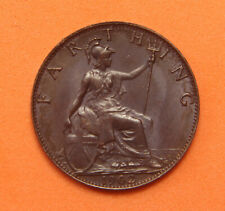 More details for edward vii 1902 farthing about unc (aunc)