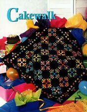Cakewalk Quilt Pattern Pieced/Applique JS **VINTAGE**