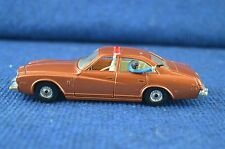 Lovely Vintage Corgi Kojak Buick Regal Car With Red Light Scale 1/36 RD7378