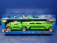 Hot Wheels Super Transporter with 7 Cars-2003 #C3735