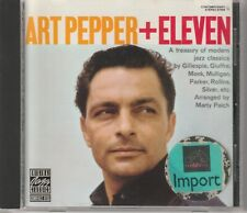Art Pepper : Art Pepper + Eleven (Modern Jazz Classics CD 1988)