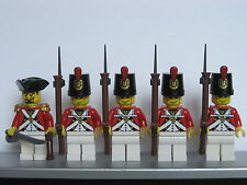 Lego PIRATES AMERICAN REVOLUTION Colonial BRITISH GRENADIER Soldiers MINIFIGS
