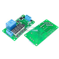 DC 5V/12V Multifunction Self-lock Relay PLC Cycle Timer Module Delay Time Switch