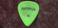 Unwritten Law 2005 Mourning Tour Guitar Pick! custom concert stage Pick