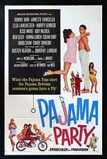 PAJAMA PARTY * CineMasterpieces 1SH ORIGINAL MOVIE POSTER ANNETTE FUNICELLO 1964