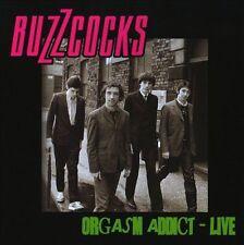 BUZZCOCKS Orgasm Addict - Live by Buzzcocks (CD Apr-2008 Pete Shelley Punk Rock