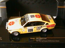 OPEL KADETT #108 4TH TOUR DE FRANCE 1979 JL CLARR IXO RAC203 1/43 1ST IN CLASS