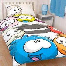 Club Penguin Artic Single Panel Duvet Cover Bed Set Disney New Gift