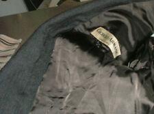 Giorgio Armani Sport Coat/Jacket /Gray Striped/42R