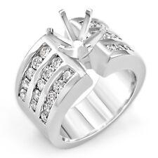 1.50 Ct Round G VS2 Setting Diamond Anniversary Engagement Ring 14k Gold White