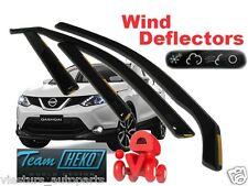 NISSAN QASHQAI - J11 5D II 2013 -  Wind deflectors  4.pc  HEKO  24286