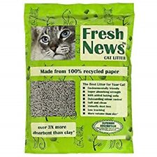 Fresh News Cat Litter, 5.44kg (12lb). Premium Service, Fast Dispatch