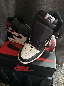 Nike Air Jordan 1 Retro High OG NRG Sail/Black-Varsity Red 861428 106 Size 7.5 M