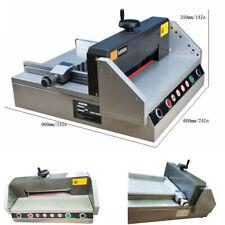 Precision Desktop Electric Paper Machine Cutter Trimmer Guillotine110v Desktop