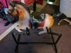 Vintage HEDSTROM SPRING BOUNCING HORSE