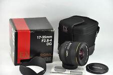Sigma EX DG HSM 17-35mm f/2.8-4 Lens For NIKON D800 D700 D600 D3 D4 D3200 D3