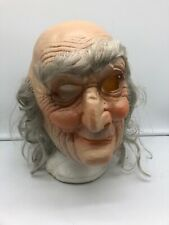 RARE VINTAGE SLAUGHTER HIGH MARTY Cesar 1971 Halloween Slasher Mask Old Man 70s