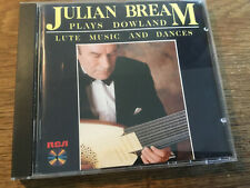 Julian Bream Plays Dowland - Lute Music and Dances [CD Album] RCA Laute