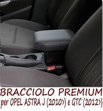 Bracciolo Premium per  OPEL ASTRA J - GTC (2012>)-MADE IN ITALY-appoggiagomito-@