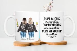Personalised Best Friend Mug High Quality, Best Friend gift, Friendship mug