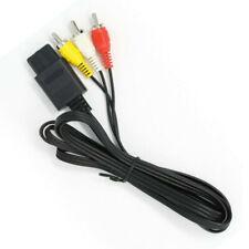 6FT RCA AV TV Audio Video Stereo Cable Cord For Nintendo 64 N64 SNES Gamecube