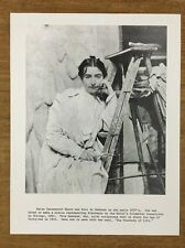 Vintage Wisconsin Historical Society Print Picture Arts. Helen Farnsworth Mears