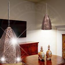 MIA Orientalische Hänge Leuchte Ø240mm/ Orient/ Kupfer/ Alu/ Pendel Lampe Arabis