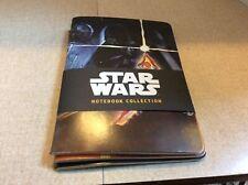 *Rare* Star Wars Journal Collection ~ 3 Piece Set ~ Brand New